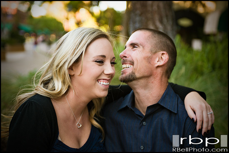 Riverside engagement photography