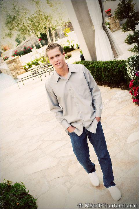 Corona Senior portrait photography