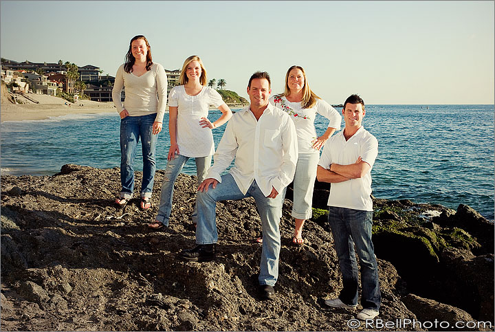 Laguna Beach Family portrait