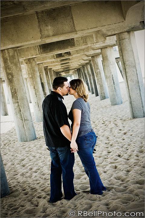 Orange County Wedding Photographer | Huntington Beach engagement session