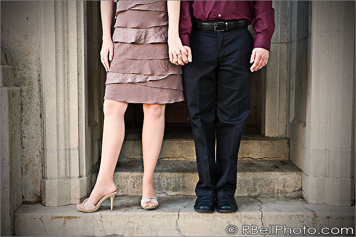 Riverside Wedding Photographer | Downtown Riverside engagement session | Mission Inn engagement session