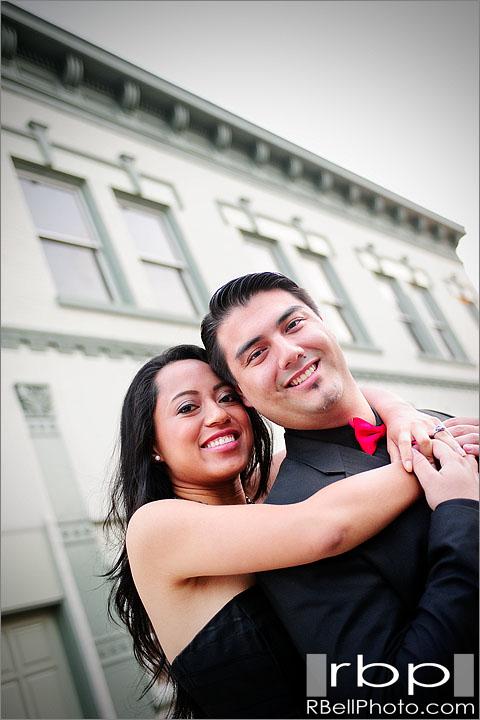 Orange County Wedding Photographer | Old Towne Orange Engagement session