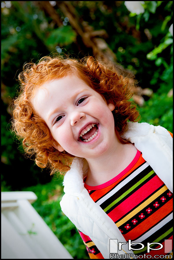 Children Photography | Redhead girl