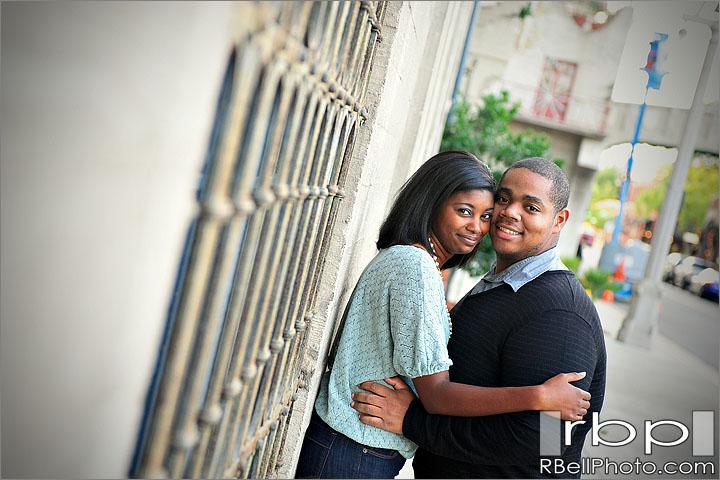 Riverside Wedding Photographer | Downtown Riverside engagement session | Mission Inn engagement session