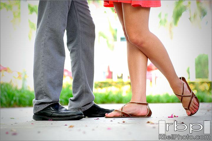 Orange Engagement Photographer | Orange Engagement Pictures