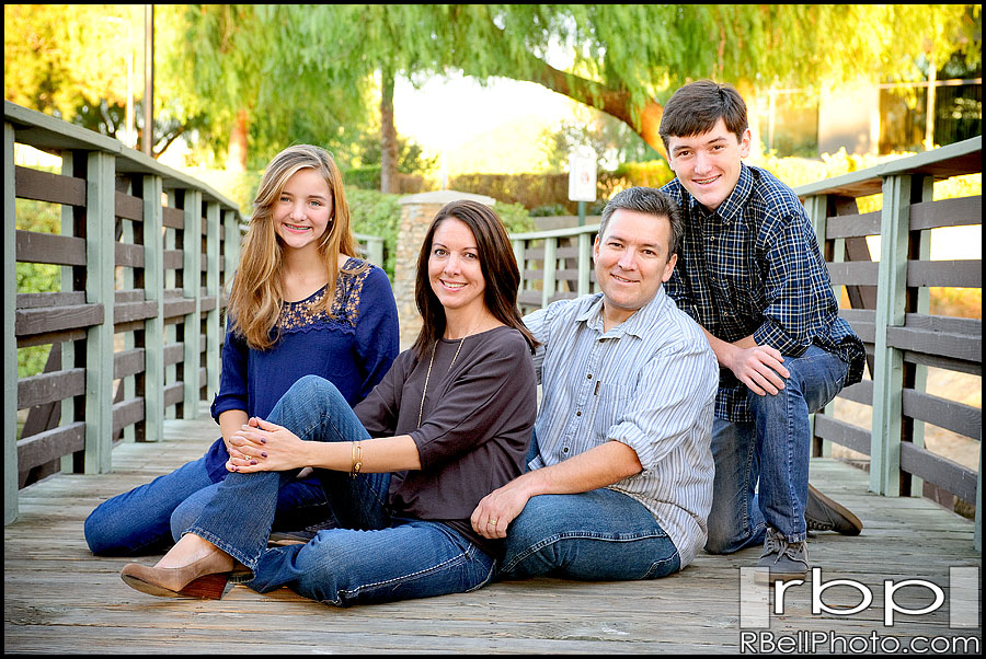 Riverside family portrait photography