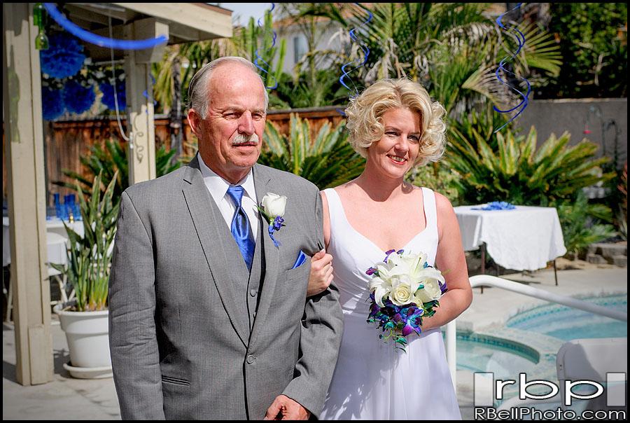 Riverside Wedding Photographer | Backyard Wedding Photography