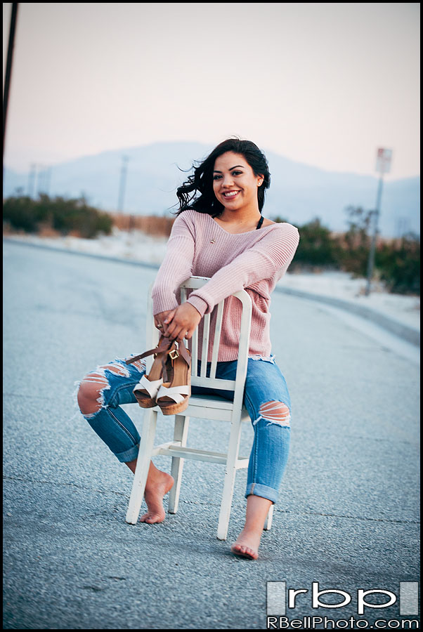 Corona Senior Portrait Photography | Palm Springs Senior Portrait Photography