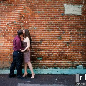 Riverside Engagement Photography