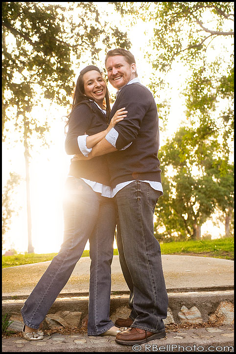 Sarah + Jeremy Engagement Photography – Fullerton CA