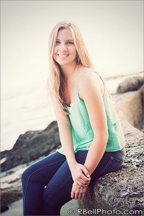 Maddie – Senior Portrait Photography – Laguna Beach CA