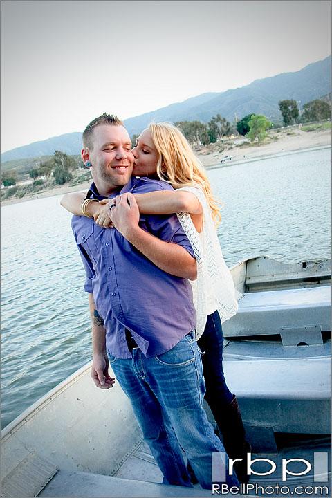Jaqi + Ryan Corona Lake Engagement Photography