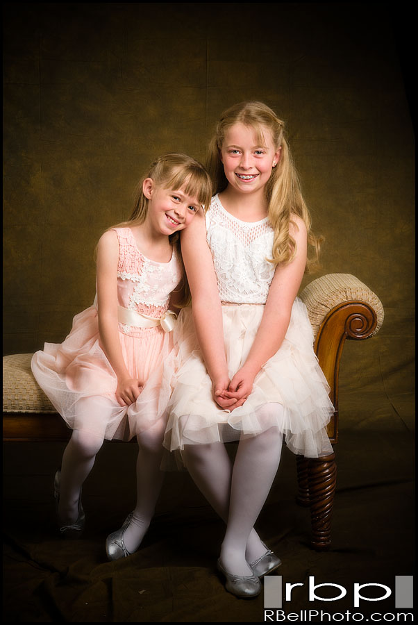 Hannah and Molly Studio Portrait Session
