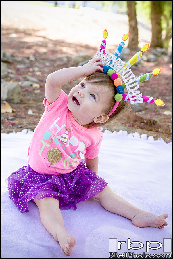 Juliet – First Birthday Photography