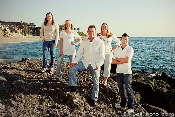 Dee + Family portrait photography – Laguna Beach CA