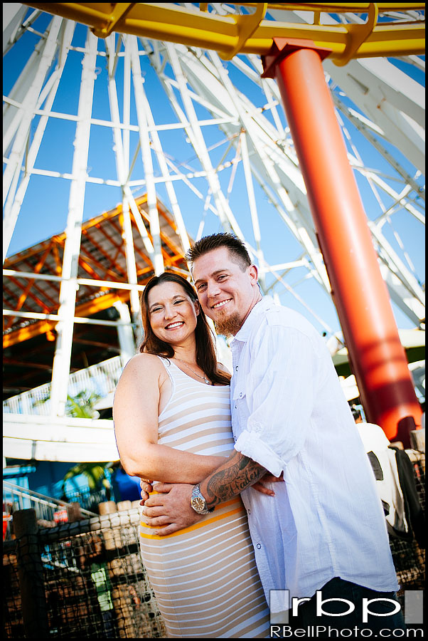 Angela + Steven – Santa Monica Engagement Pictures