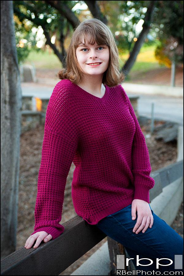 Kristin – Autistic Senior Portrait